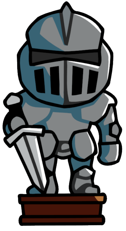 Of armor decor scribblenauts. Knights clipart suit armour