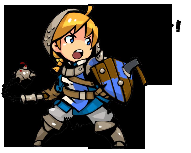 knight clipart toon