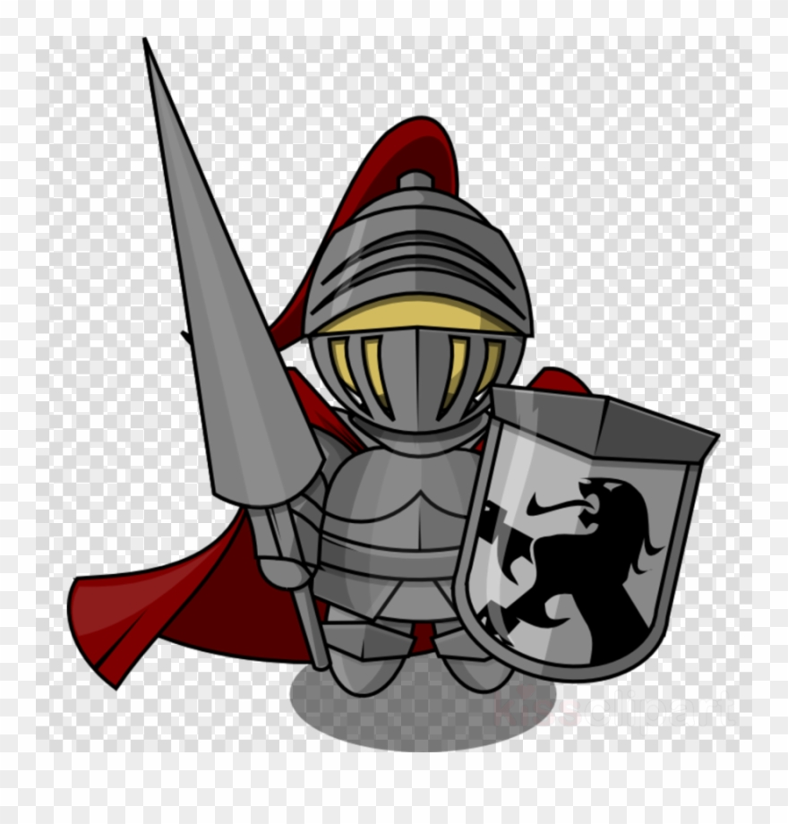 Knight clipart transparent background. Png clip art