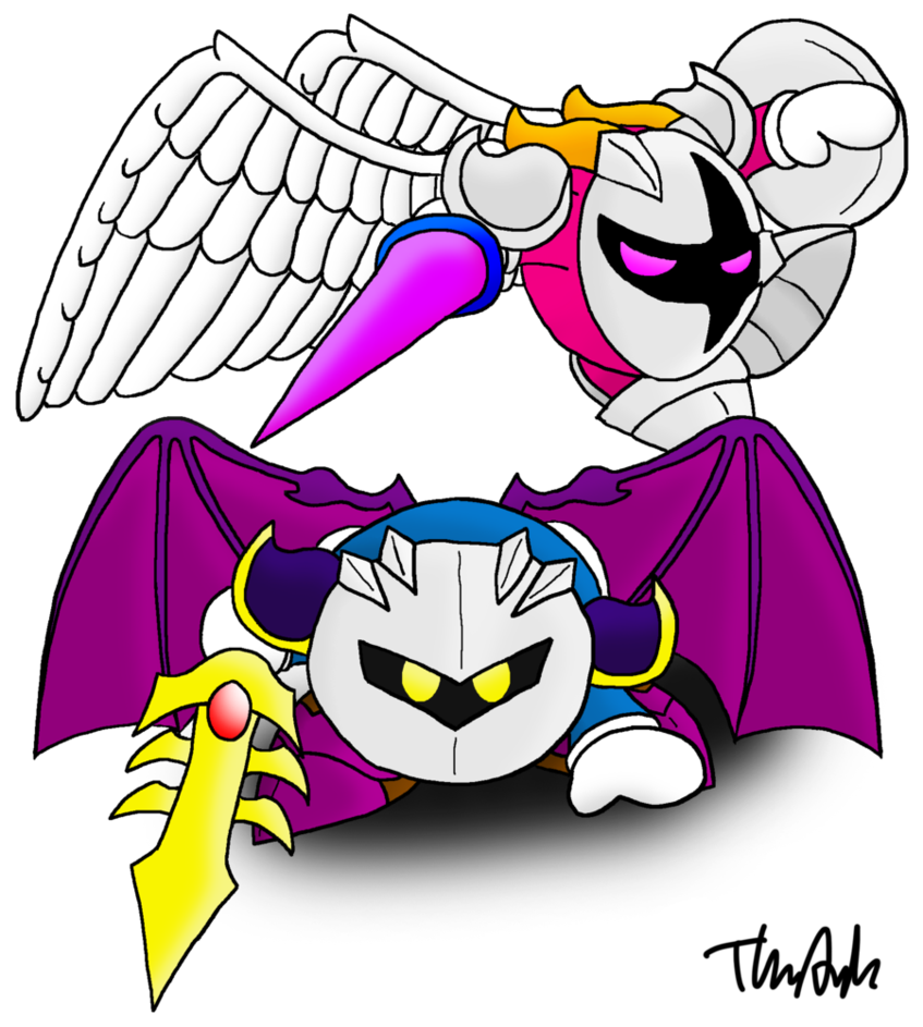 Knight clipart victorious. Meta and galacta by