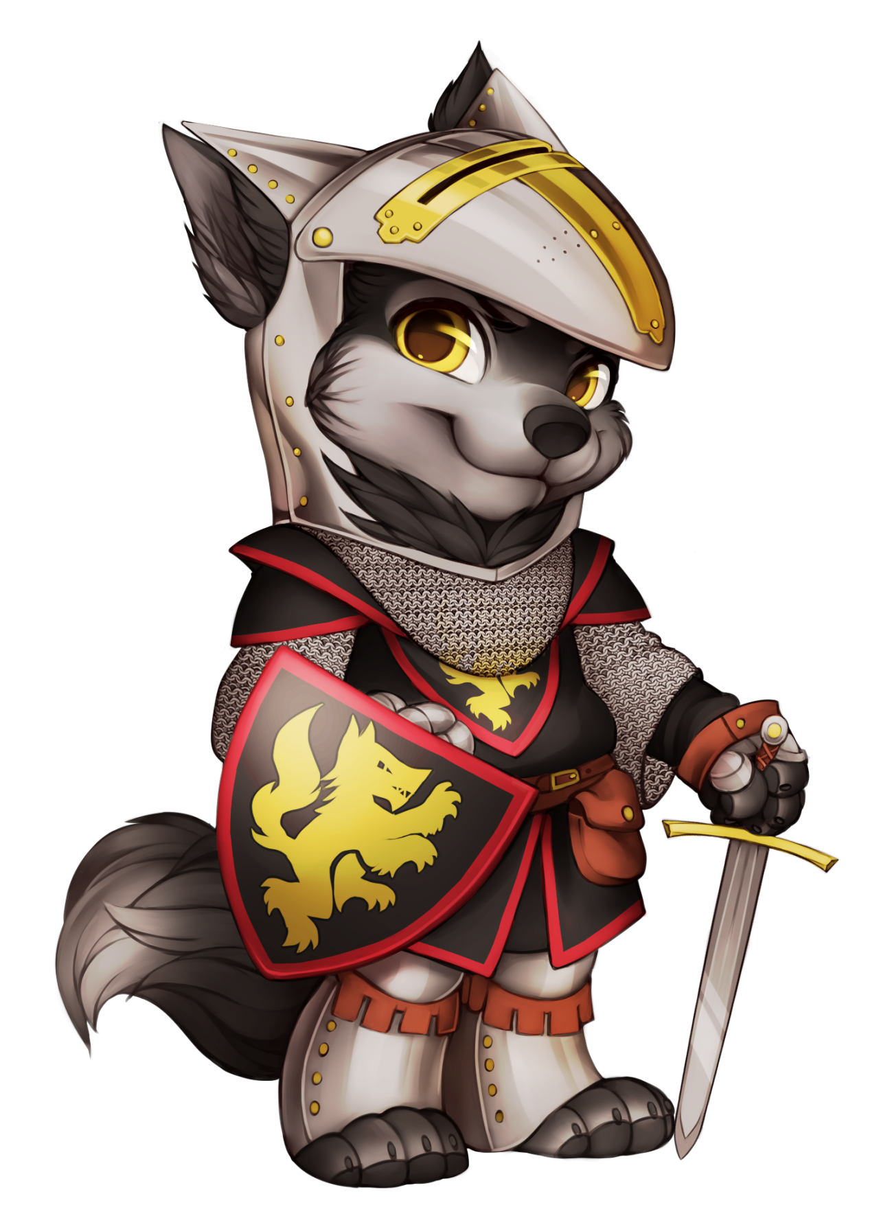 Image knight wolf png. Warrior clipart armour shield