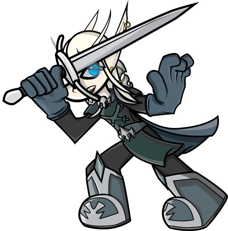 Warrior clipart knight. Death world of warcraft