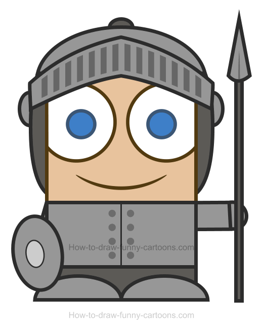 Knights clipart. Knight how to draw