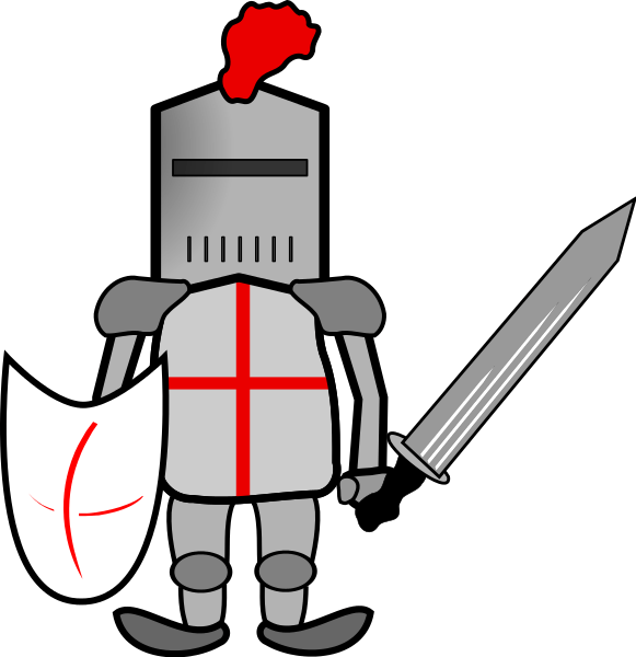 Knights clipart armour. Knight in portal