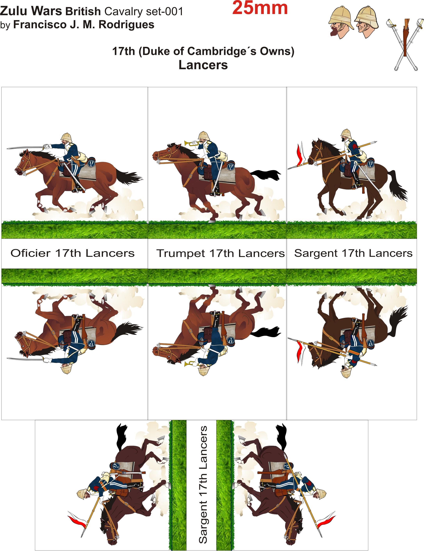 Knights clipart cavalry. Zulu wars british lancers