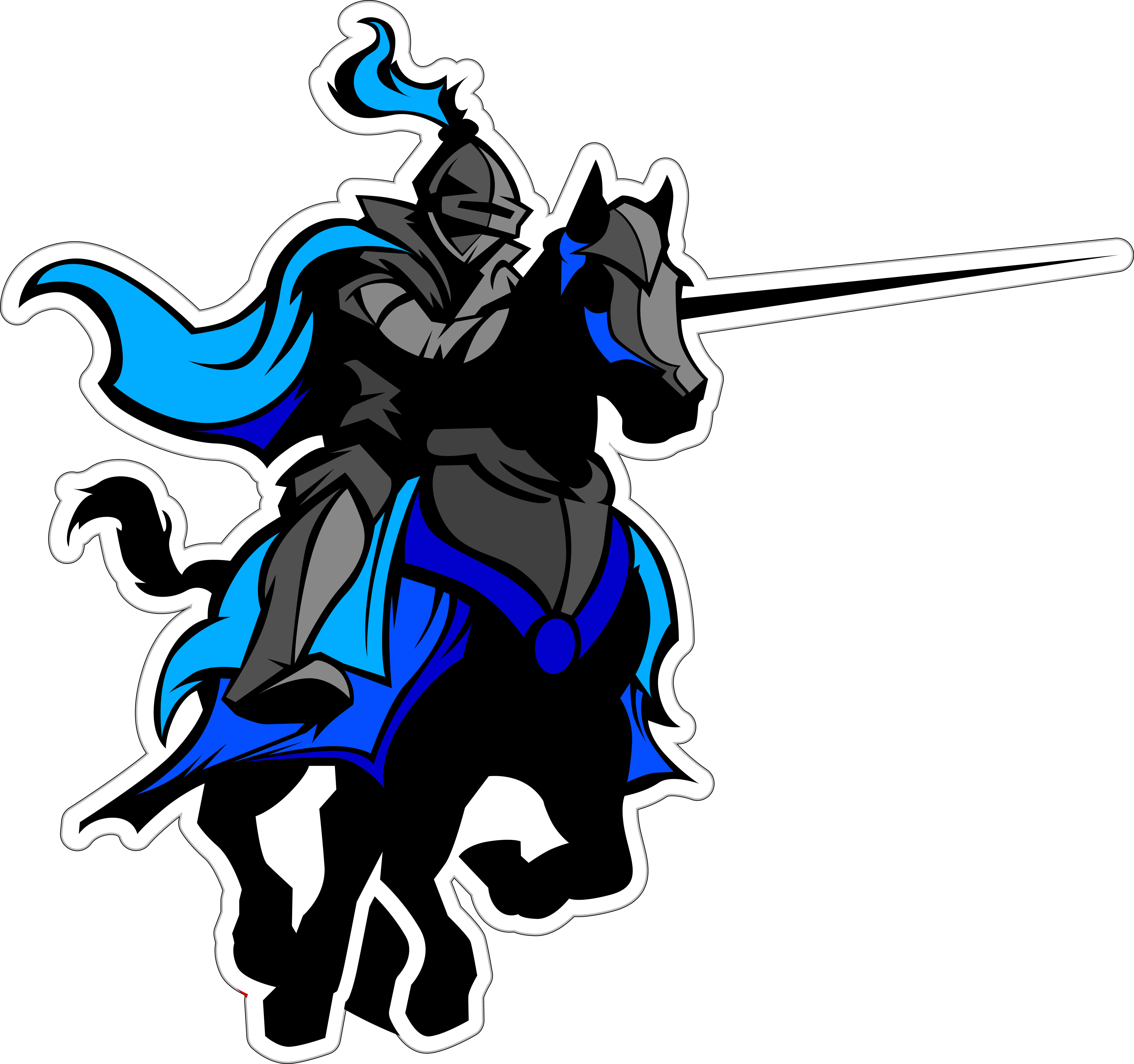 Knights clipart charger. Spring cliparts sports zone