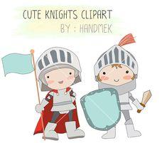 Cartoon holding sword royalty. Knights clipart cute knight