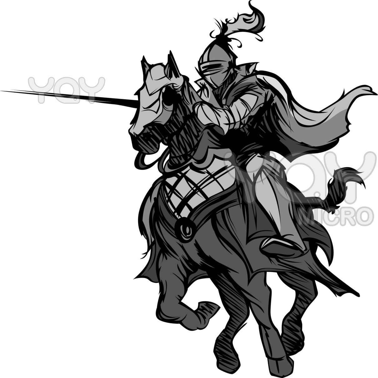 Jousting full metal on. Knights clipart evil knight