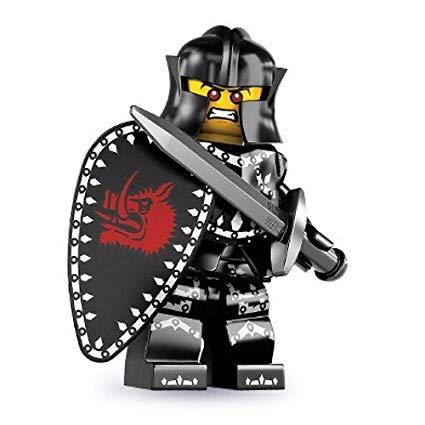 Knights clipart evil knight. Lego series mini figure