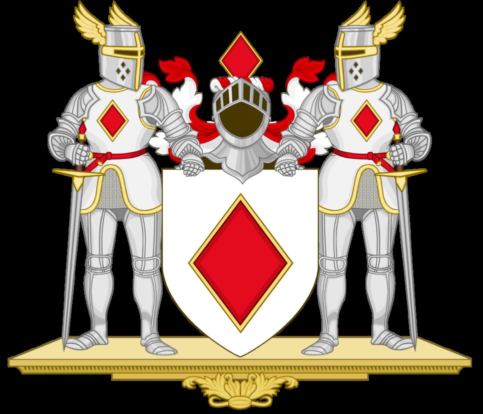 Knight clipart history european. Coa knights of the