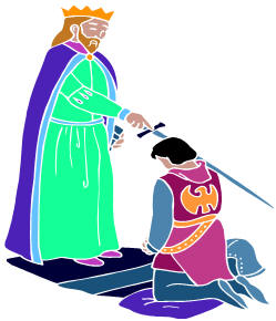 Knights clipart knighted. Free knight knighting download
