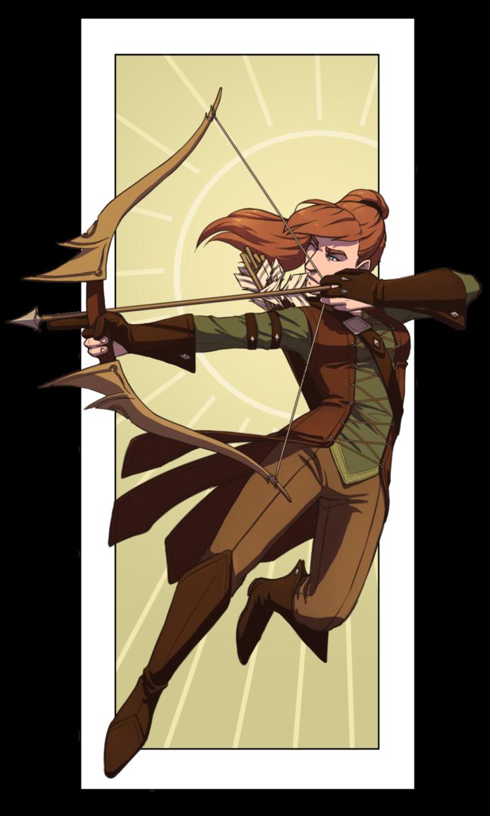 By firestashe deviantart com. Knights clipart medieval archer