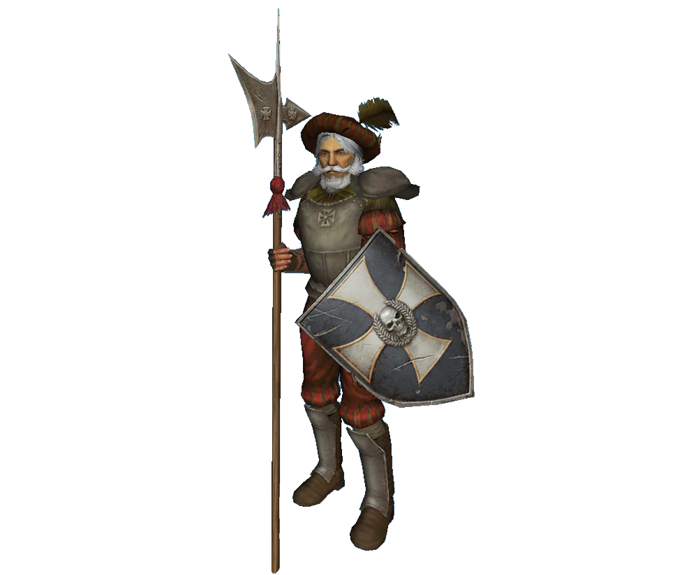 Halberdier image warhammer the. Knights clipart medieval army