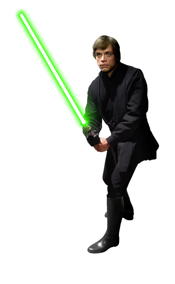 Starwars clipart jedi. Image luke skywalker knight