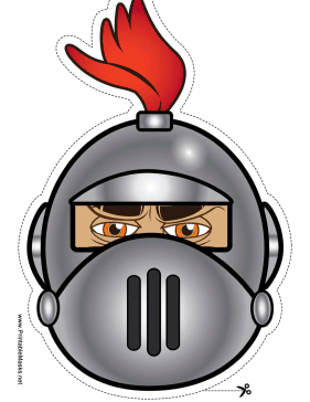 This mask has a. Knights clipart silver knight