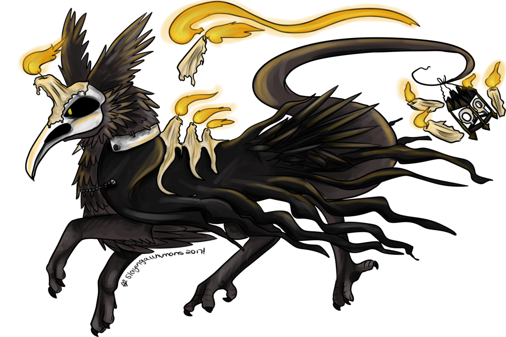 Knights clipart slayed dragon. Dta raven spoopidog try