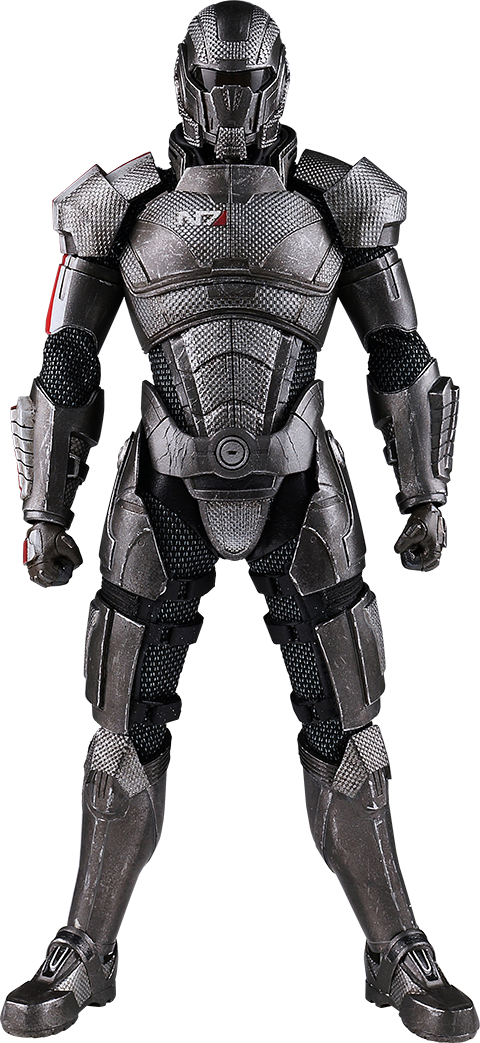 Knights clipart suit armour. Commander shepard sixth scale