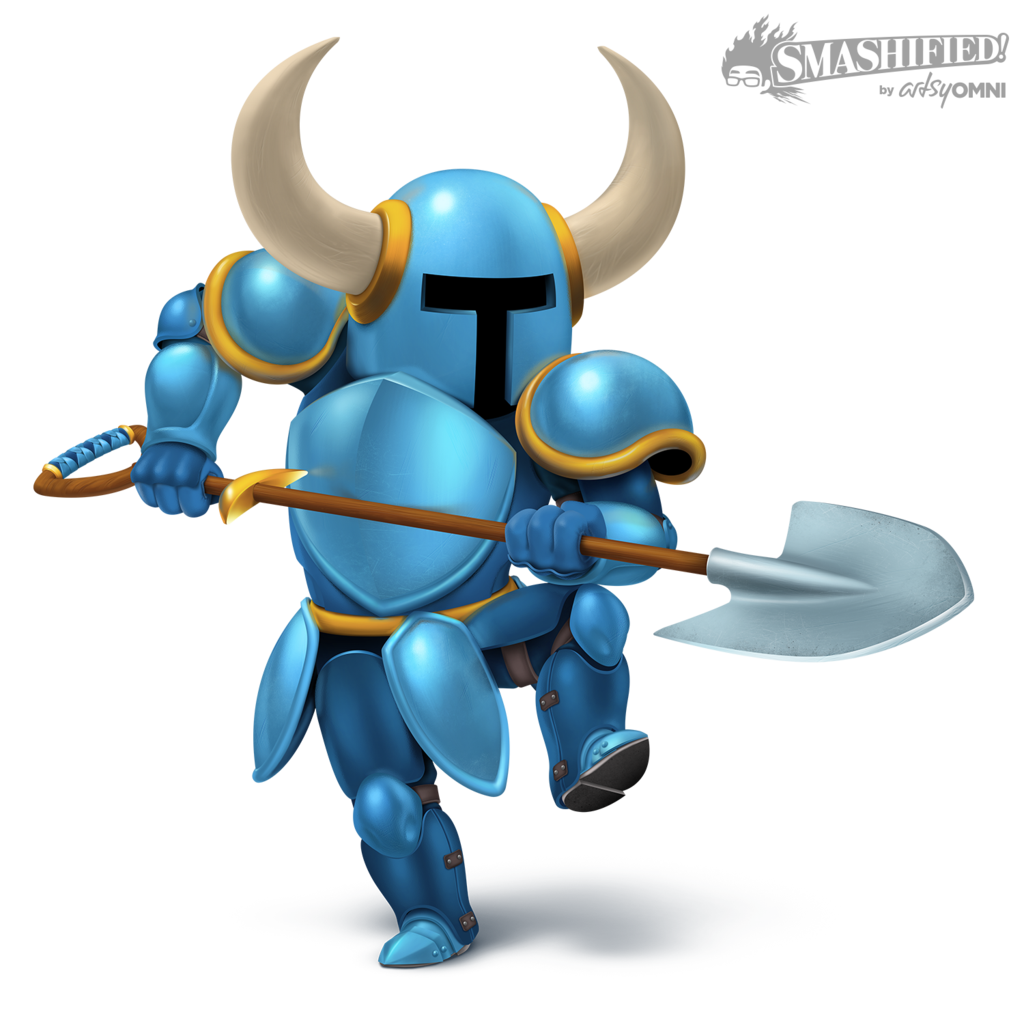 Shovel knight steel thy. Knights clipart two knights