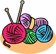 Free yarns. Knitting clipart