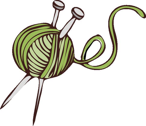 Clipart sheep knitting. Green clip art at