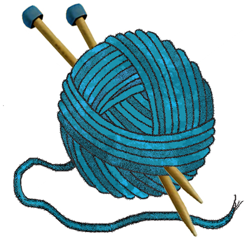 knitting clipartlook. Crafts clipart knit
