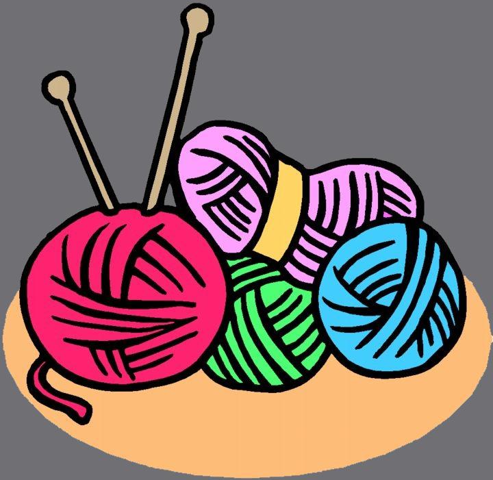 Knitting clipart. Panda free images librarycenterclipart