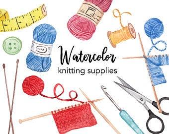 Etsy . Knitting clipart craft item