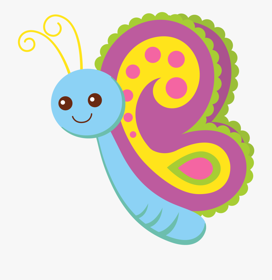 Cute butterfly png . Knitting clipart craft item