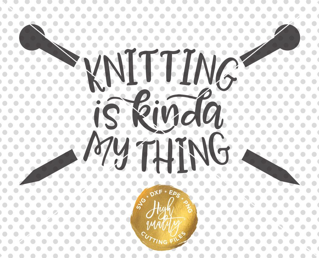 Pin on cricut projects. Knitting clipart file