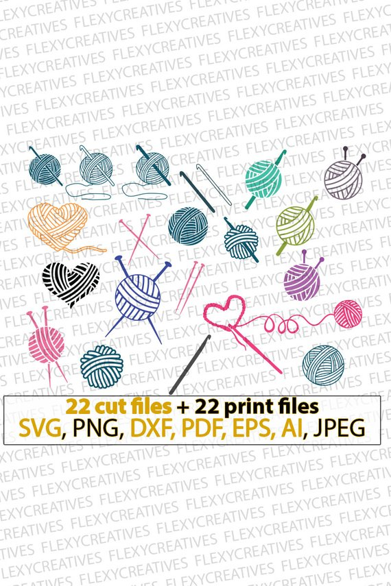 Knitting clipart file. Pin on crafts