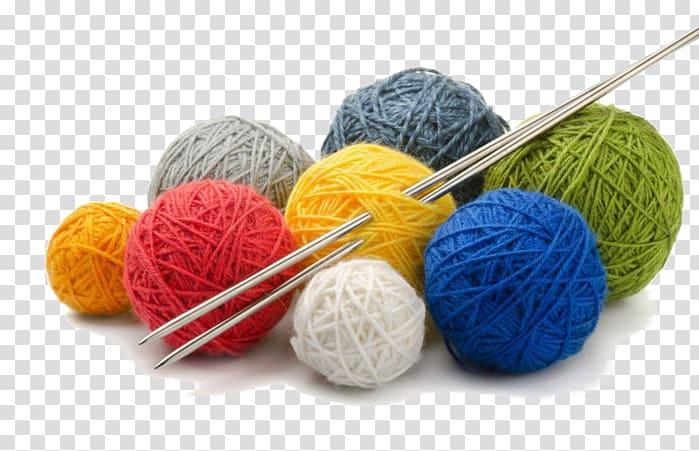 Yarn needle hand sewing. Knitting clipart knitting club