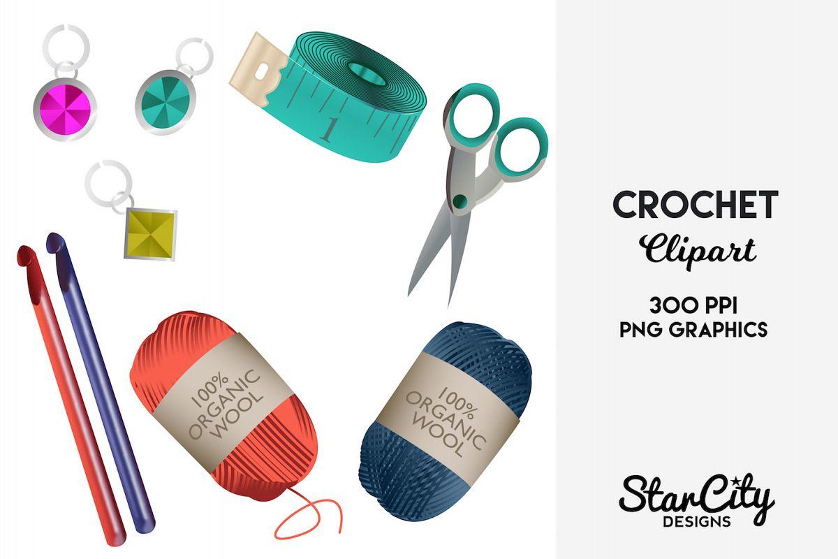Crochet . Knitting clipart product