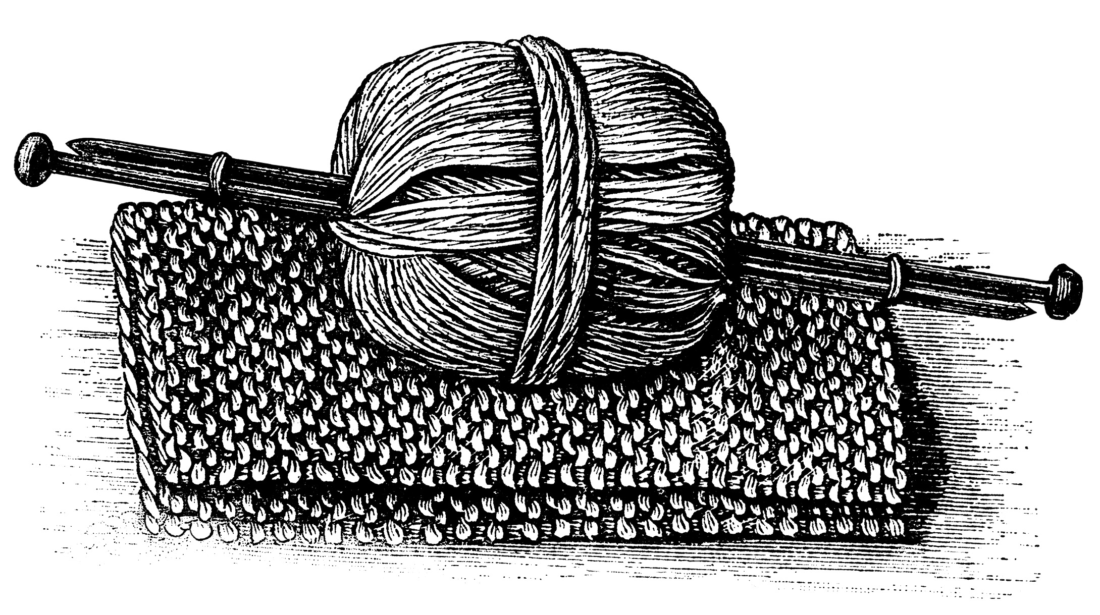 And clip art old. Knitting clipart yarn