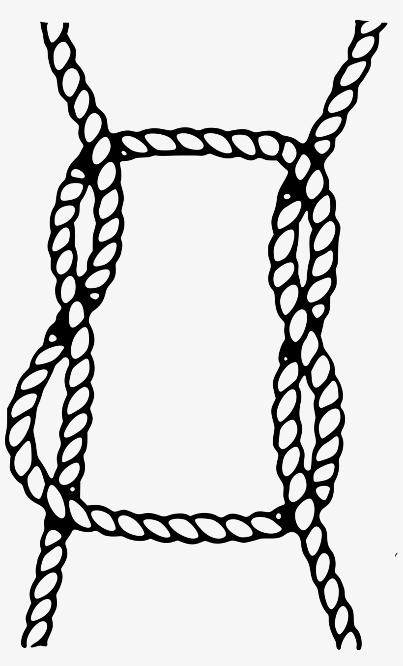 Knot clipart bind. Png black and white