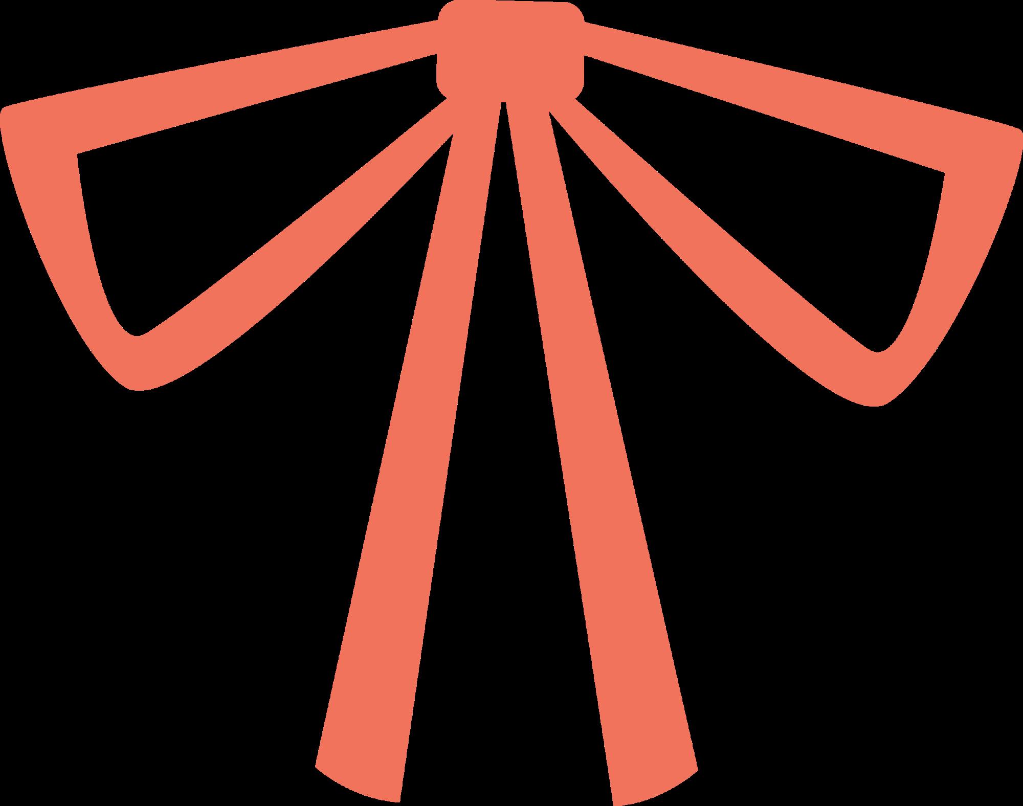 Butterfly shoelace knot clip. Watermelon clipart triangle sandwich