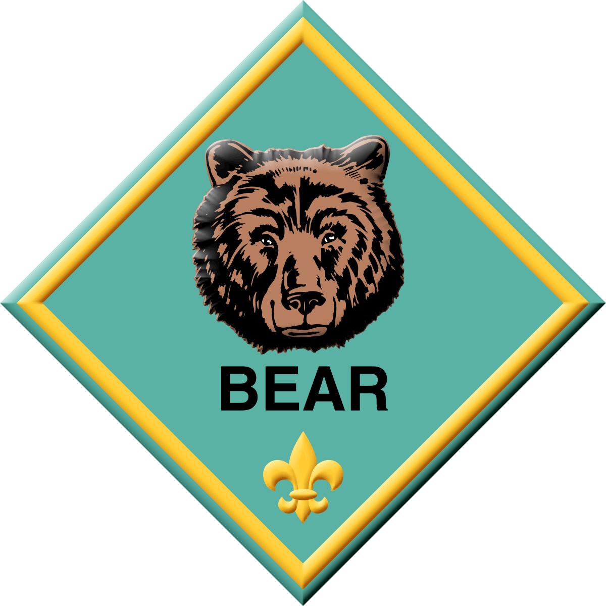 Clovis pack scouts . Paw clipart cub scout