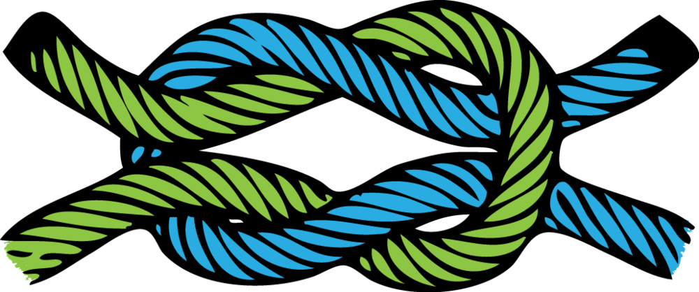 Square clipart rope.  collection of knot
