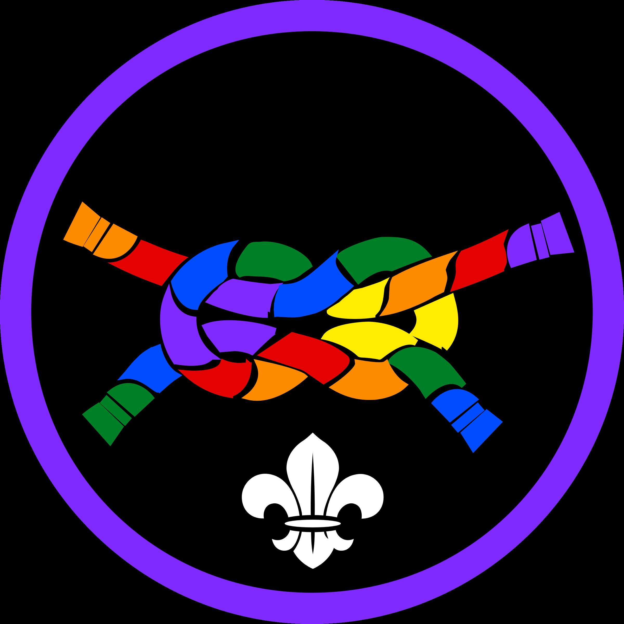 Challenge merit badge big. Proud clipart pride