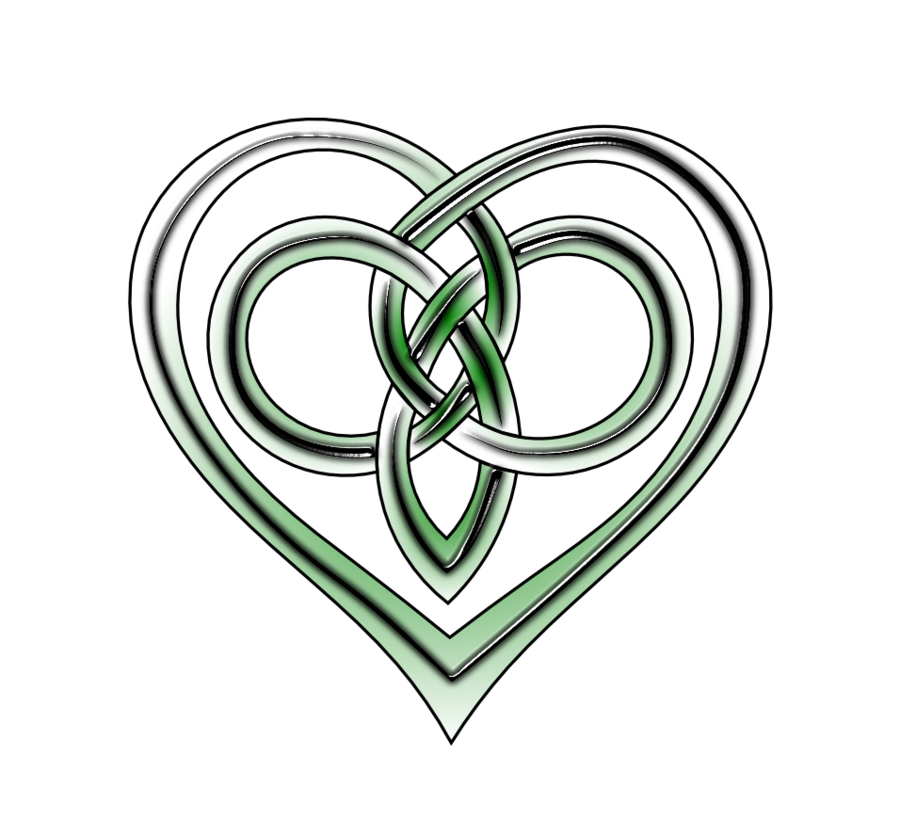 Vector celtic by lupas. Knot clipart rope heart