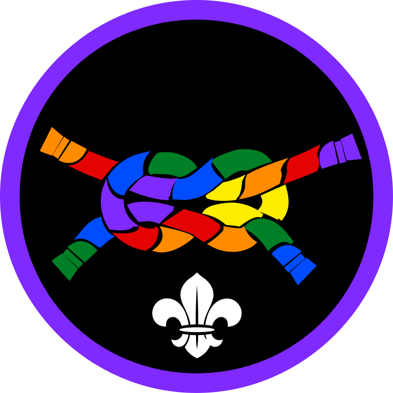 Baden powell undone as. Knot clipart scouting activity