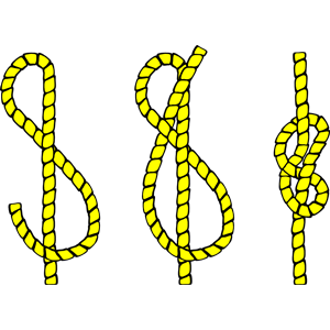 Tying knots cliparts of. Knot clipart tie knot
