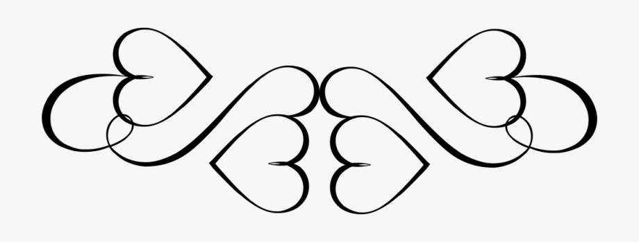 Knot clipart western heart. Transparent hearts design black