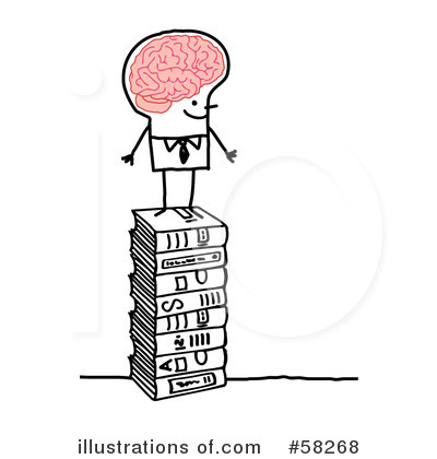 Knowledge clipart. Illustration by nl shop