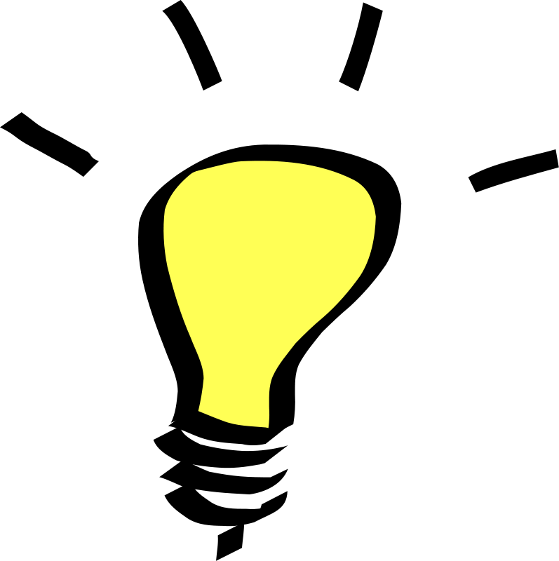 collection of knowledge. Idea clipart night light