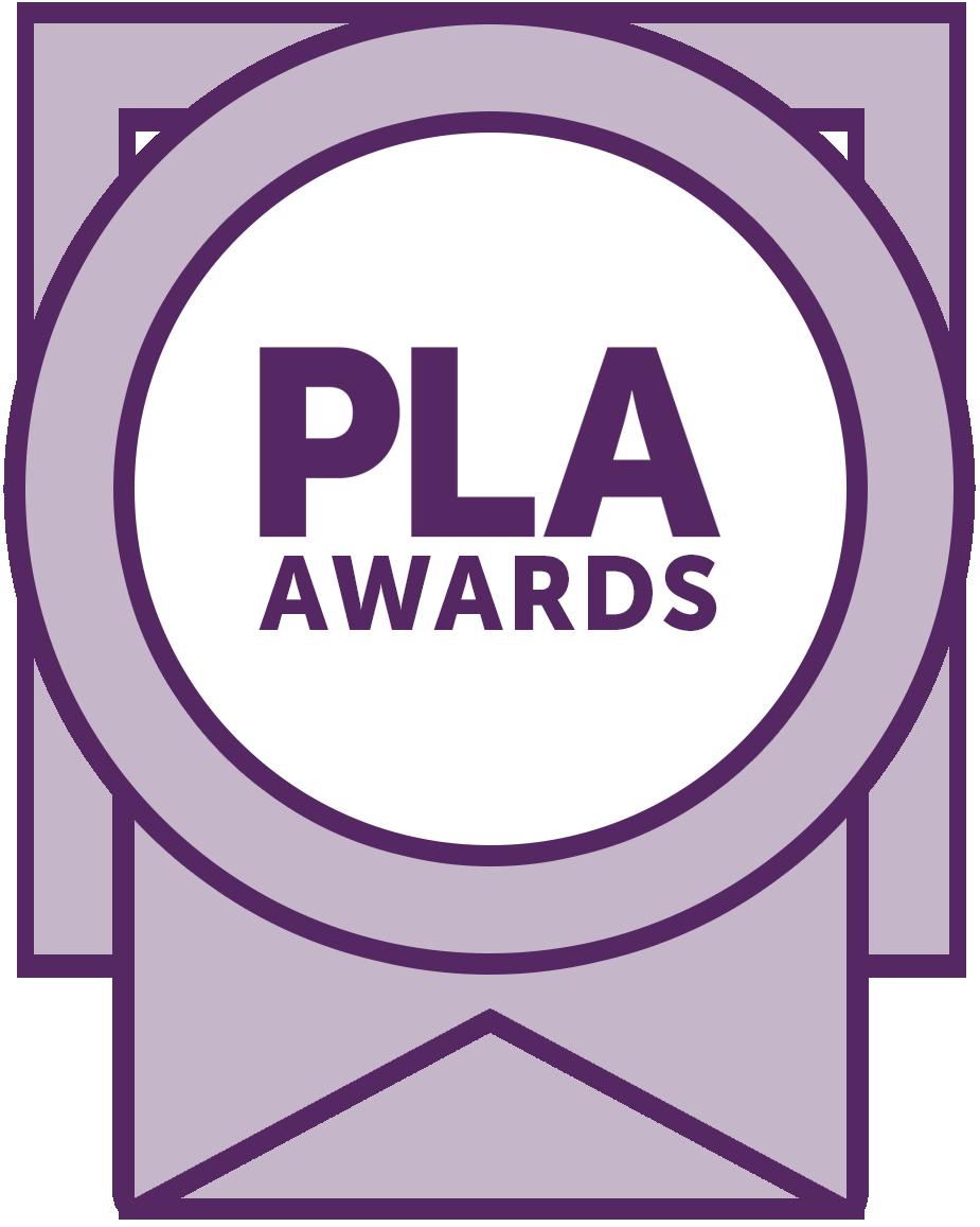 Prize clipart appreciation award. Pla awards recognize individuals
