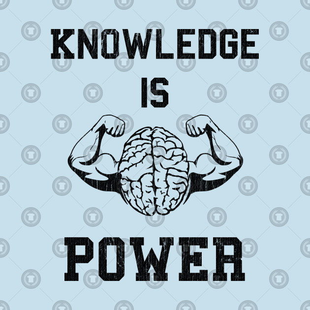 Knowledge clipart knowledge power. Is
