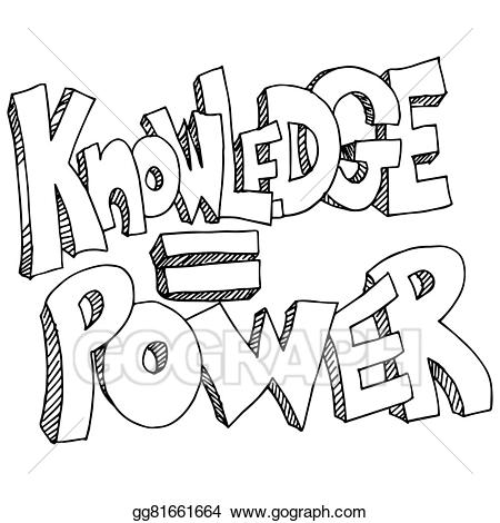 Knowledge clipart knowledge power. Vector equals background