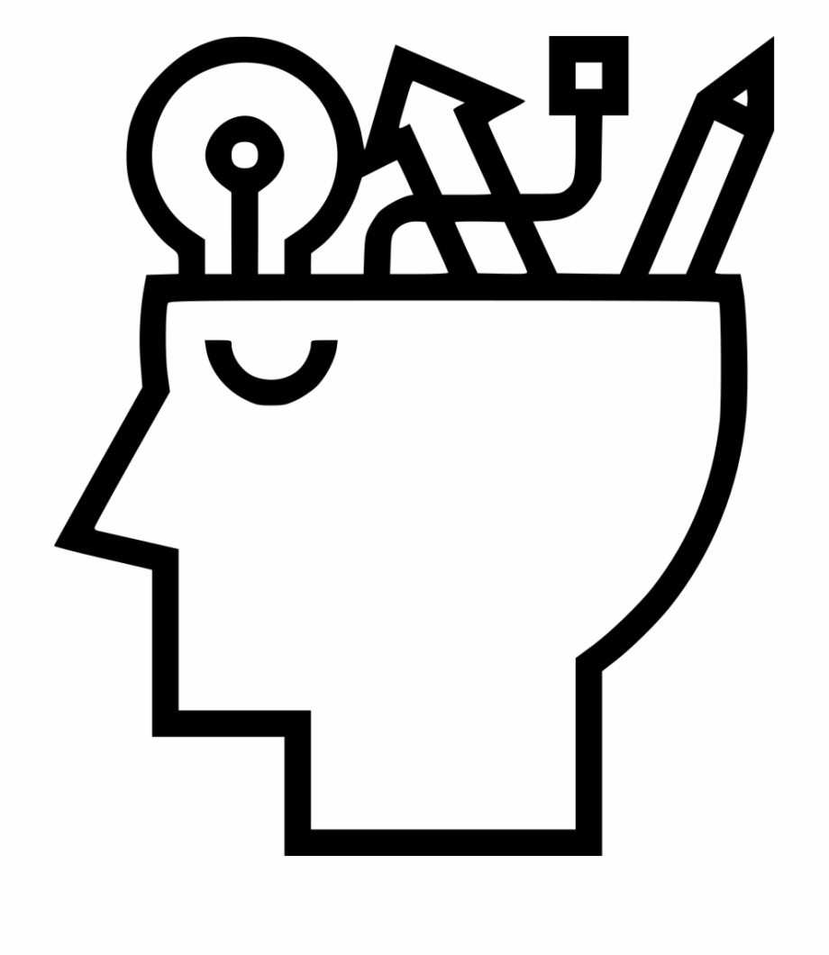 Png file svg black. Knowledge clipart knowlege