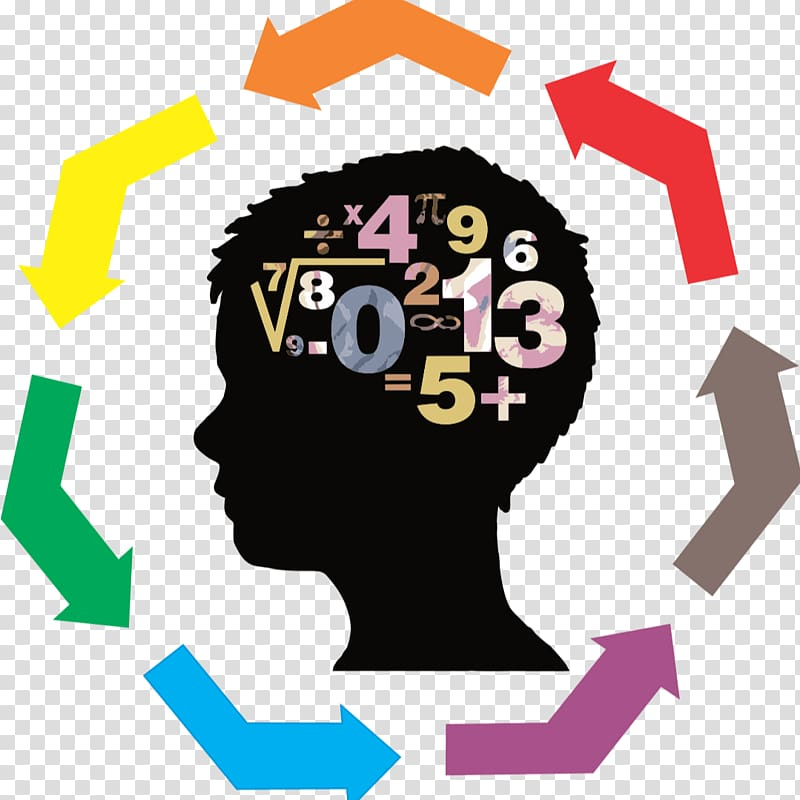 Boy s brain illustration. Knowledge clipart logic