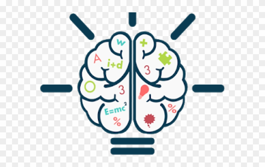 Brains knowledge based system. Nervous clipart math
